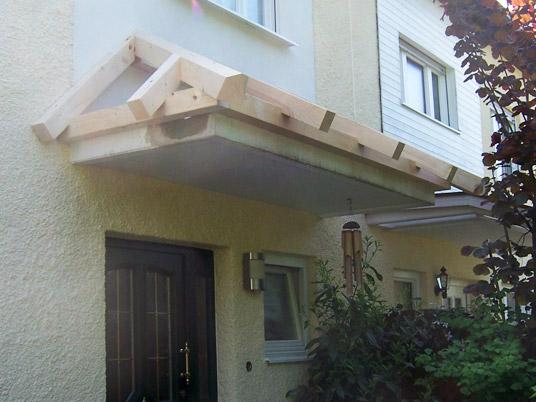 Vordach eingangsbereich holz - Loungemobel mit dach ...